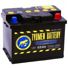 Аккумулятор Тюмень R12V 62Ah 550A