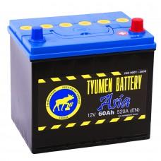 Аккумулятор Тюмень Азия R12V 60Ah 520A