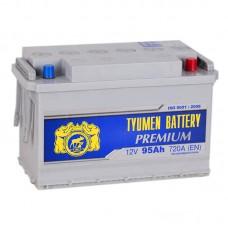 Аккумулятор Тюмень Premium R12V 95Ah 720A