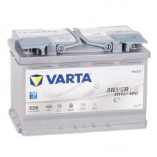 Аккумулятор Varta AGM E39 R12V 70Ah 760A