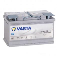 Аккумулятор Varta AGM F21 R12V 80Ah 800A