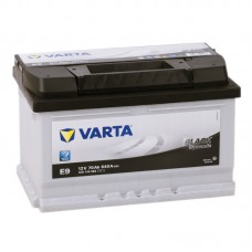 Аккумулятор Varta Black E9 R12V 70Ah 640A