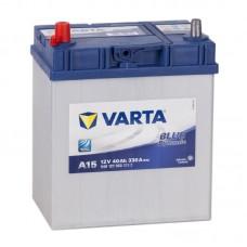 Аккумулятор Varta Blue A15 L12V 40Ah 330A