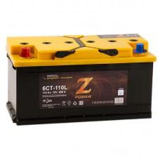 Аккумулятор Z-Power L12V 110Ah 890A